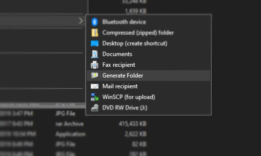 Generate-Folder-Win-10-v1.2